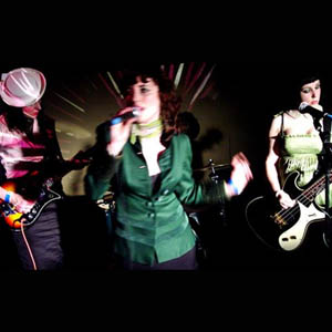 The artist The Long Blondes on Manchester Music