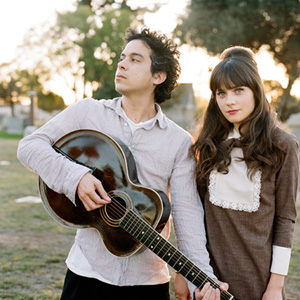 The artist She & Him on Manchester Music