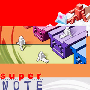 The artist Super Note (Japan) on Manchester Music