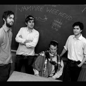 The artist Vampire Weekend on Manchester Music