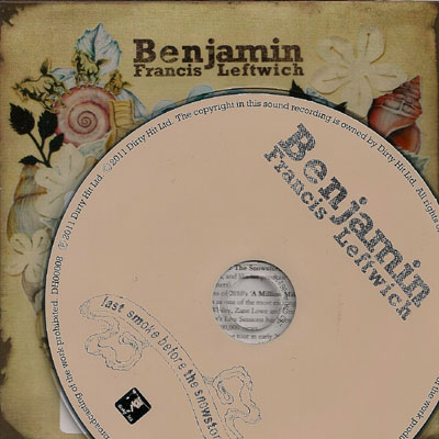 The artist Benjamin Francis Leftwich on Manchester Music