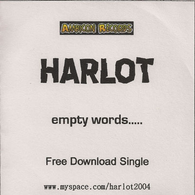 The artist Harlot on Manchester Music